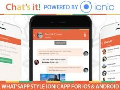 دانلود سورس کد codecanyon – What's App Chat Clone