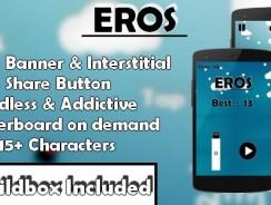 دانلود سورس کد codecanyon – Eros – iOS xCode & Buildbox Game Template