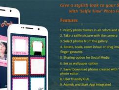 دانلود سورس سلفی codecanyon – Selfie Time – Selfie App