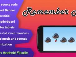 دانلود سورس کد codecanyon – Remember Hat Game with AdMob and Leaderboard