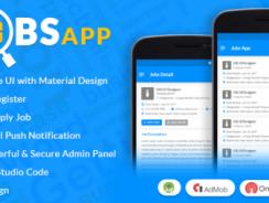 دانلود سورس جستجوی کار و استخدام اندروید Jobs App