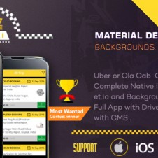 Taxi Booking App – A Complete Clone of UBER iOS