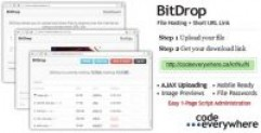 دانلود BitDrop 1.4.2 – اسکریپت آپلود سنتر و اشتراک فایل فایل