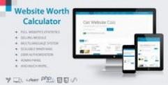 دانلود Website Worth Calculator – اسکریپت تخمین قیمت وب سایت